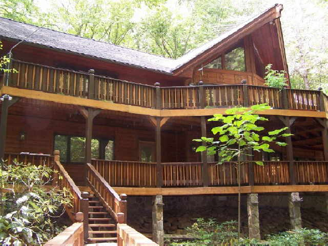 Photo of home for sale at 430 Covered Bridge, Sky Valley GA