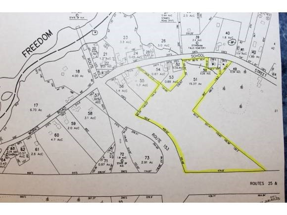 EFFINGHAM NH  LAND  for sale $27,000