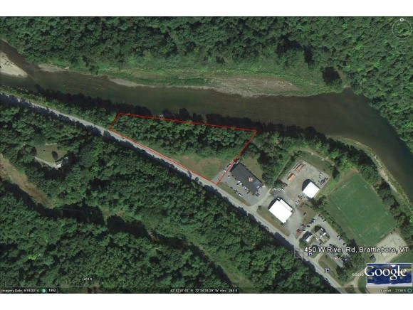 Commercial lot located between Route 30 and the...