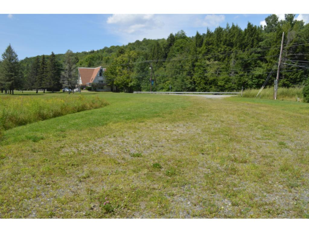 Commercially zoned land with valley trail at the...
