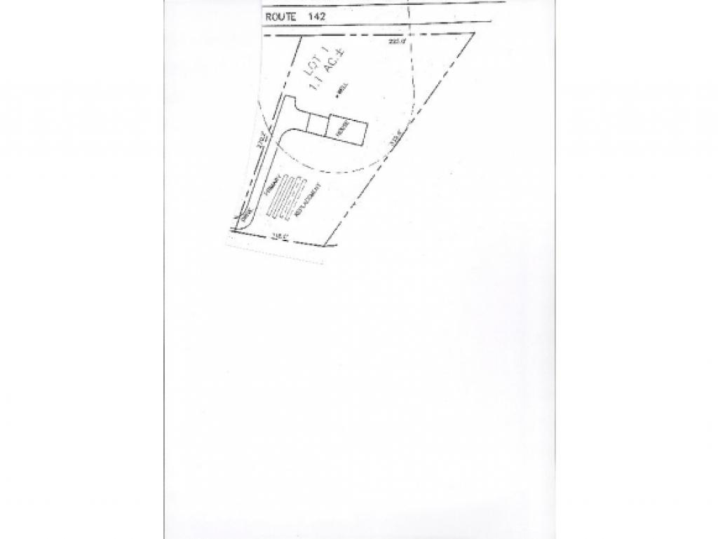 Level parcel of land on state rd. with state...