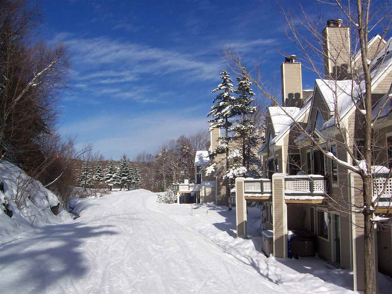 Ski-on/Ski-off condo at Mount Snow. This 2...