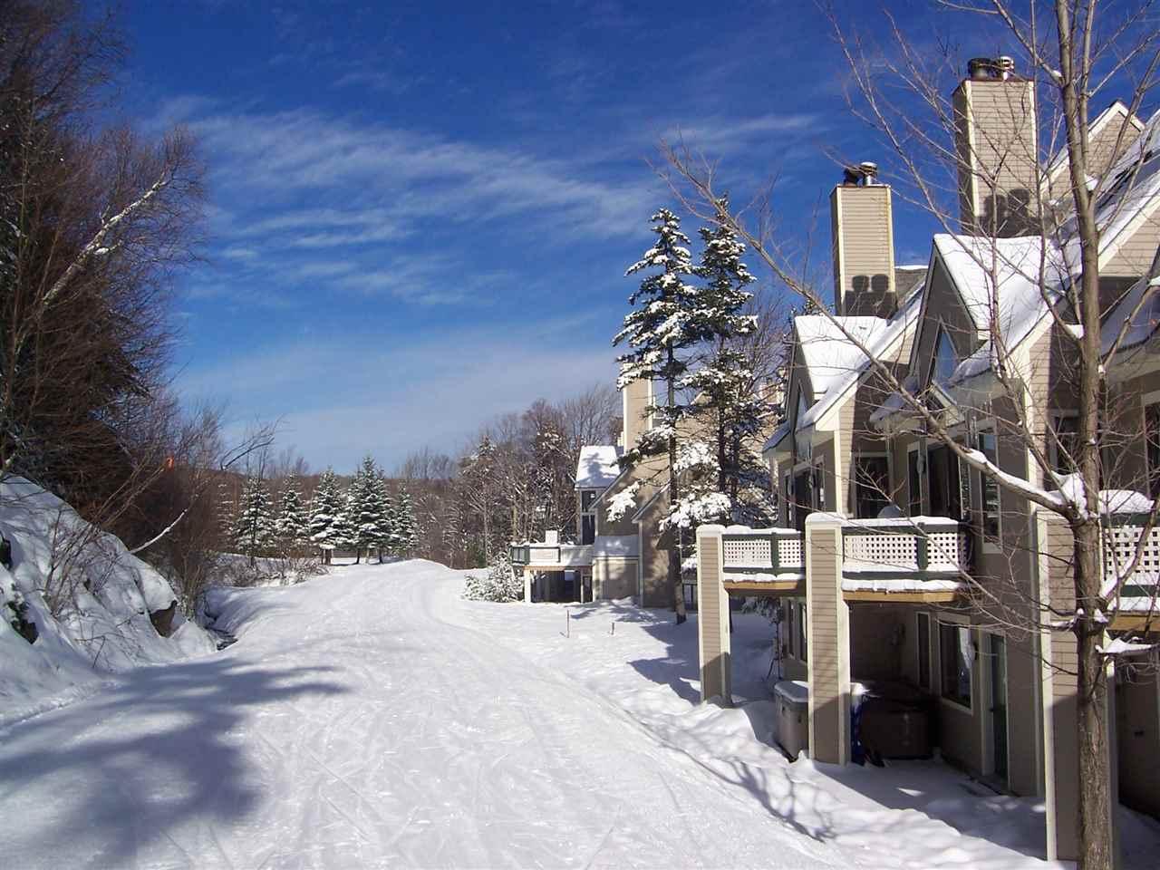 Ski-on/Ski-off condo at Mount Snow. This 2...
