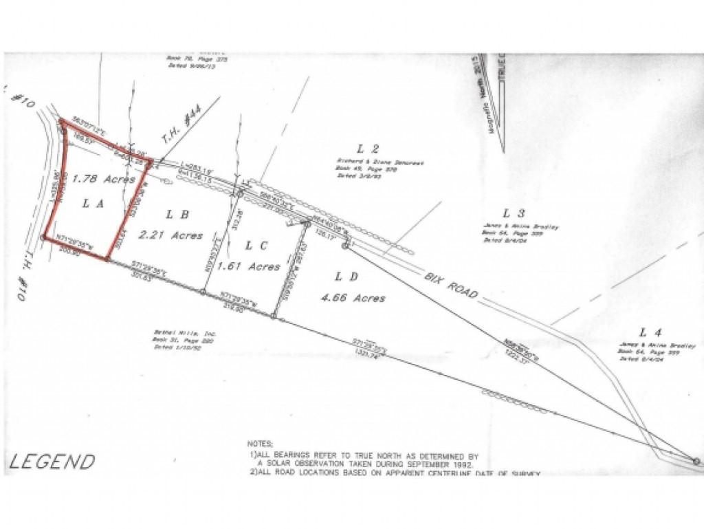 Lot 5A Bix Road, Stockbridge, VT 05772
