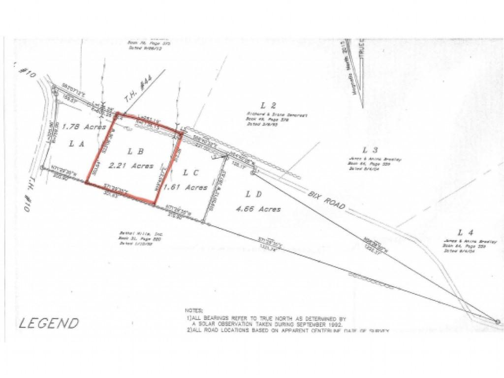 Lot 5B Bix Road, Stockbridge, VT 05772