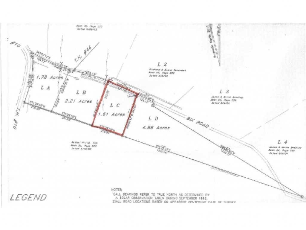 STOCKBRIDGE VTLAND  for sale $$18,900 | 1.61 Acres  | Price Per Acre $0
