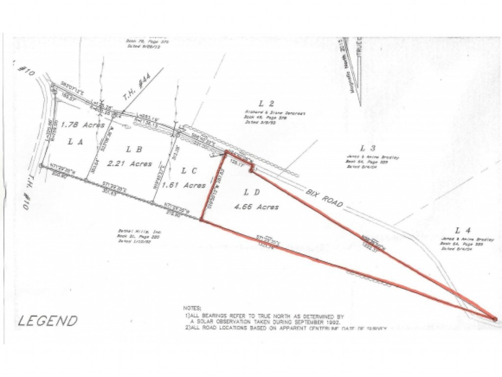 STOCKBRIDGE VTLAND  for sale $$29,900   4.66 Acres    Price Per Acre $0