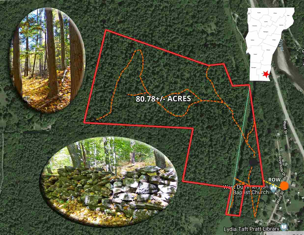 Expansive 80.78+/- acres of predominantly...