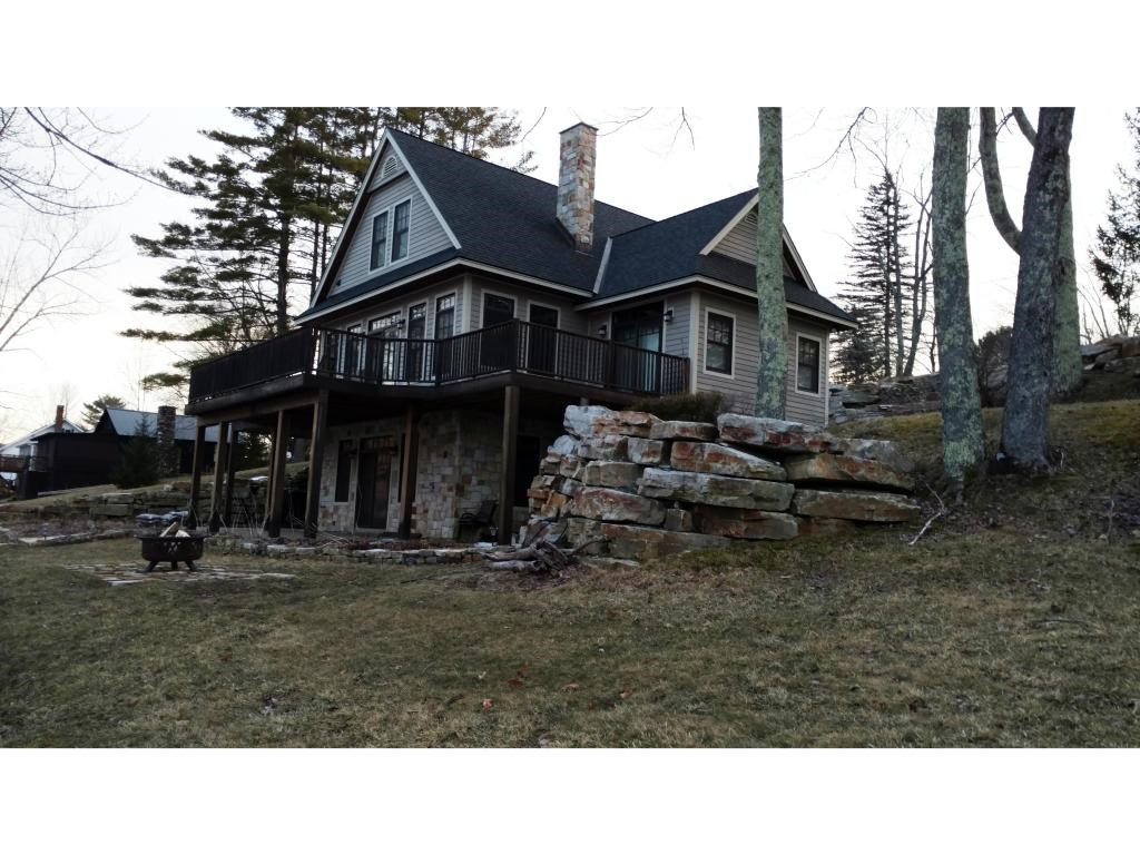 WELLS VT Lake House for sale $$489,000 | $158 per sq.ft.