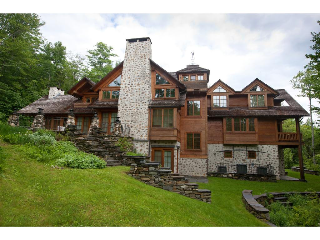 A Stone & Timber Masterpiece with direct access...