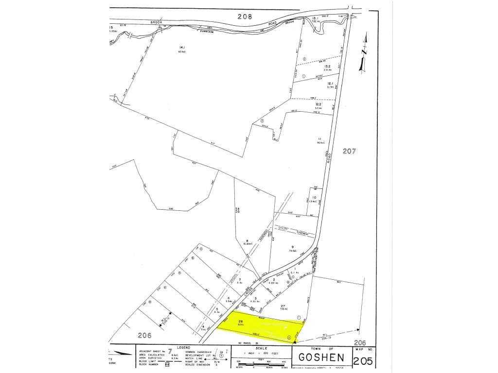 Goshen NH 03752 Land  for sale $List Price is $44,900