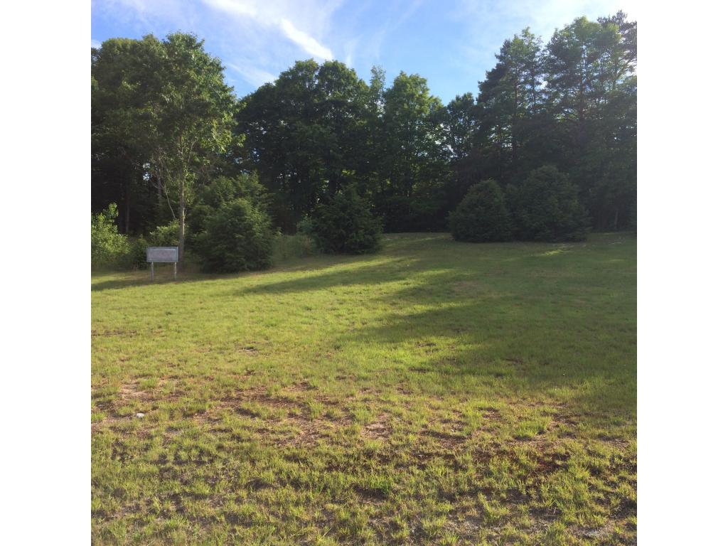 Commercial lot with good stopping site distance...