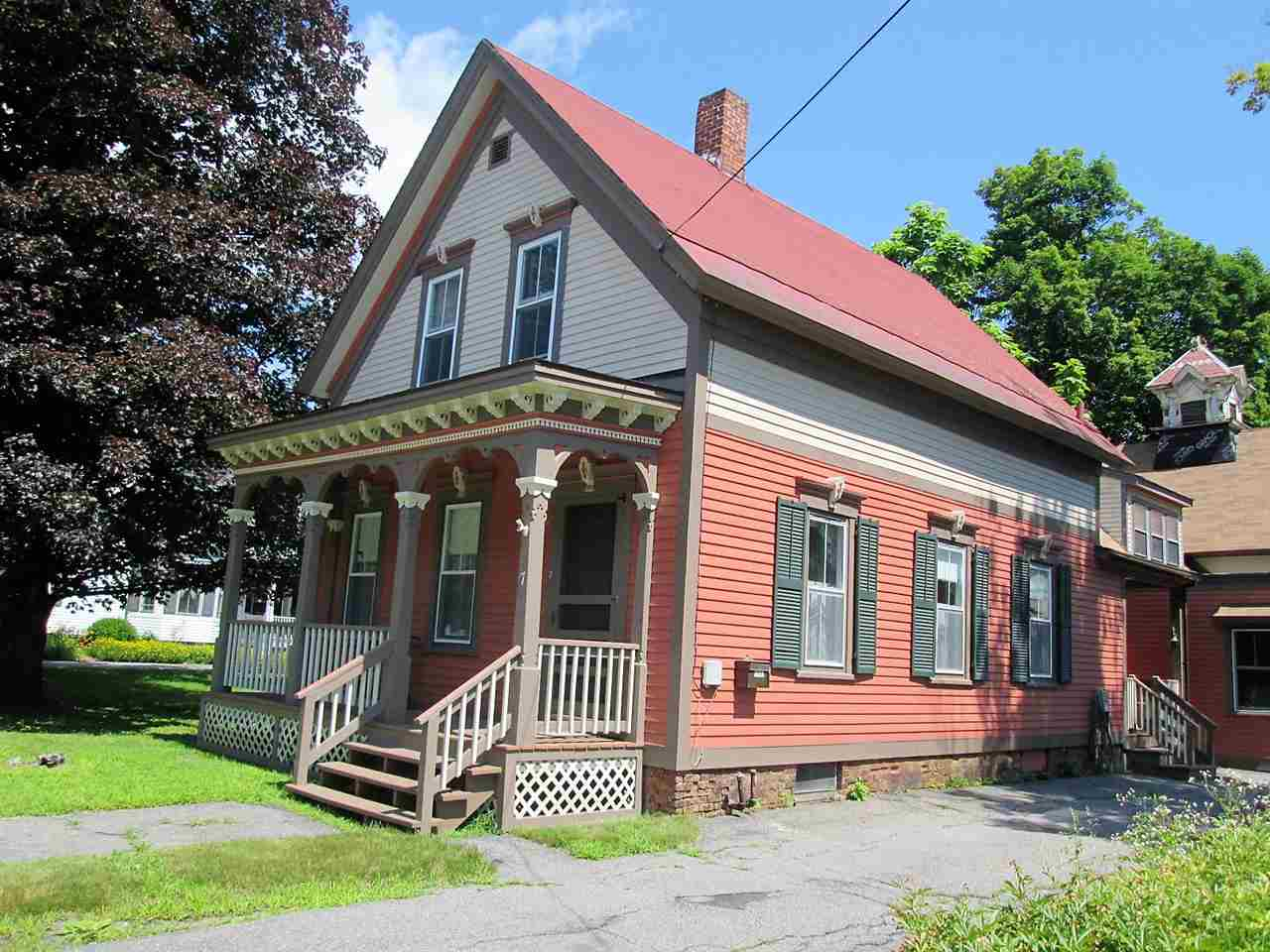 VILLAGE OF BELLOWS FALLS IN TOWN OF ROCKINGHAM VT Home for sale $$125,000 | $91 per sq.ft.