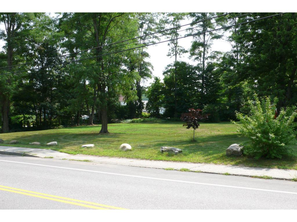 Level and nicely landscaped corner building lot...