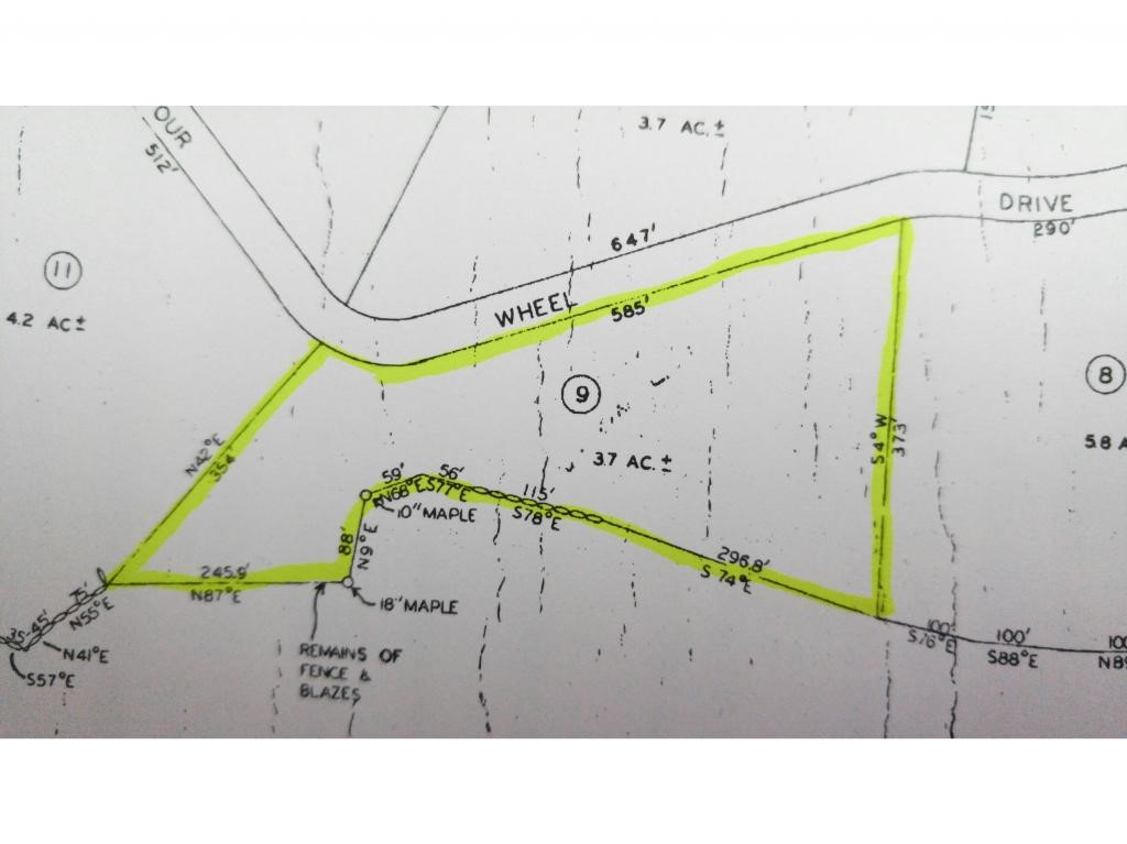 UNITY NH LAND  for sale $$8,500 | 3.7 Acres  | Price Per Acre $2,297