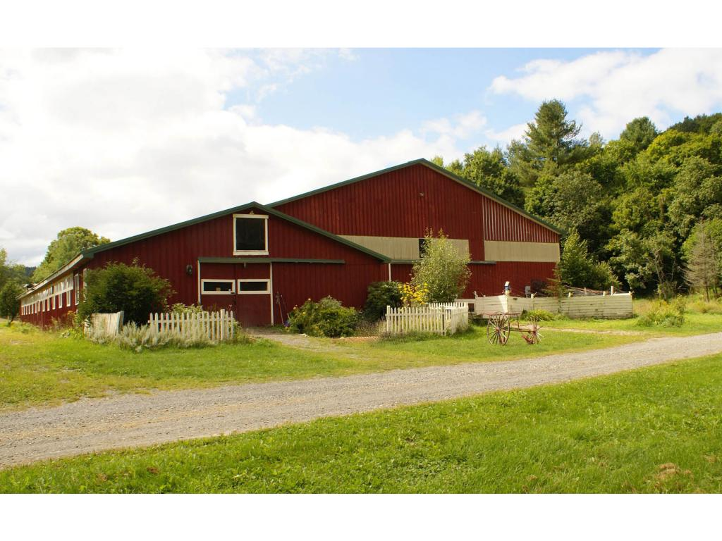 Beautiful barn on 2.77 acres in lovely Guilford!...