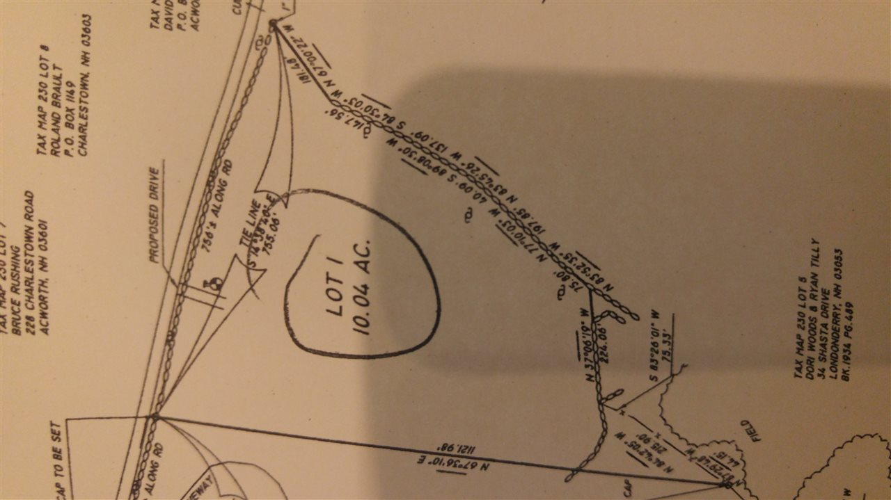 Acworth NH 03601 Land  for sale $List Price is $40,000