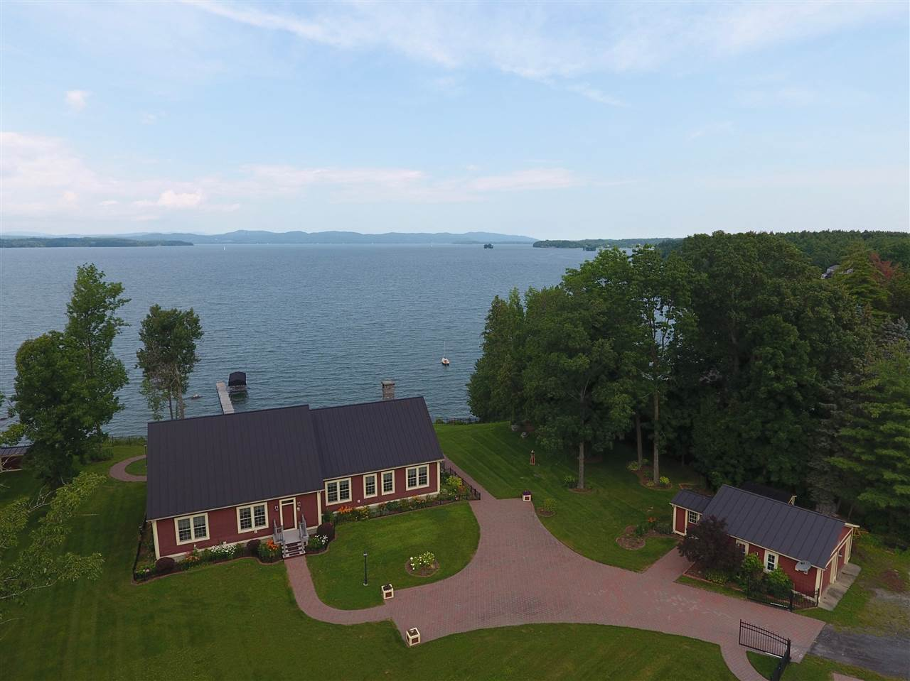 PANTON VT Lake House for sale $$999,000 | $385 per sq.ft.
