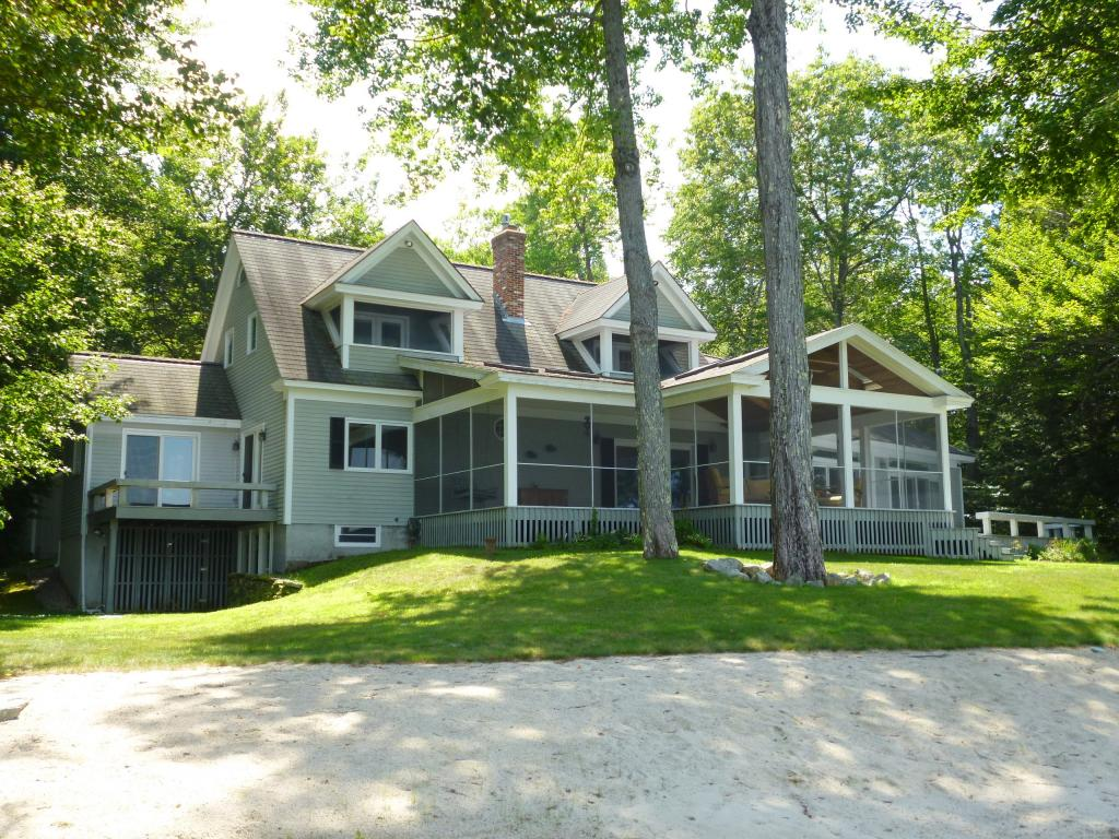 Wolfeboro NH Lake Winnipesaukee waterfront home for sale