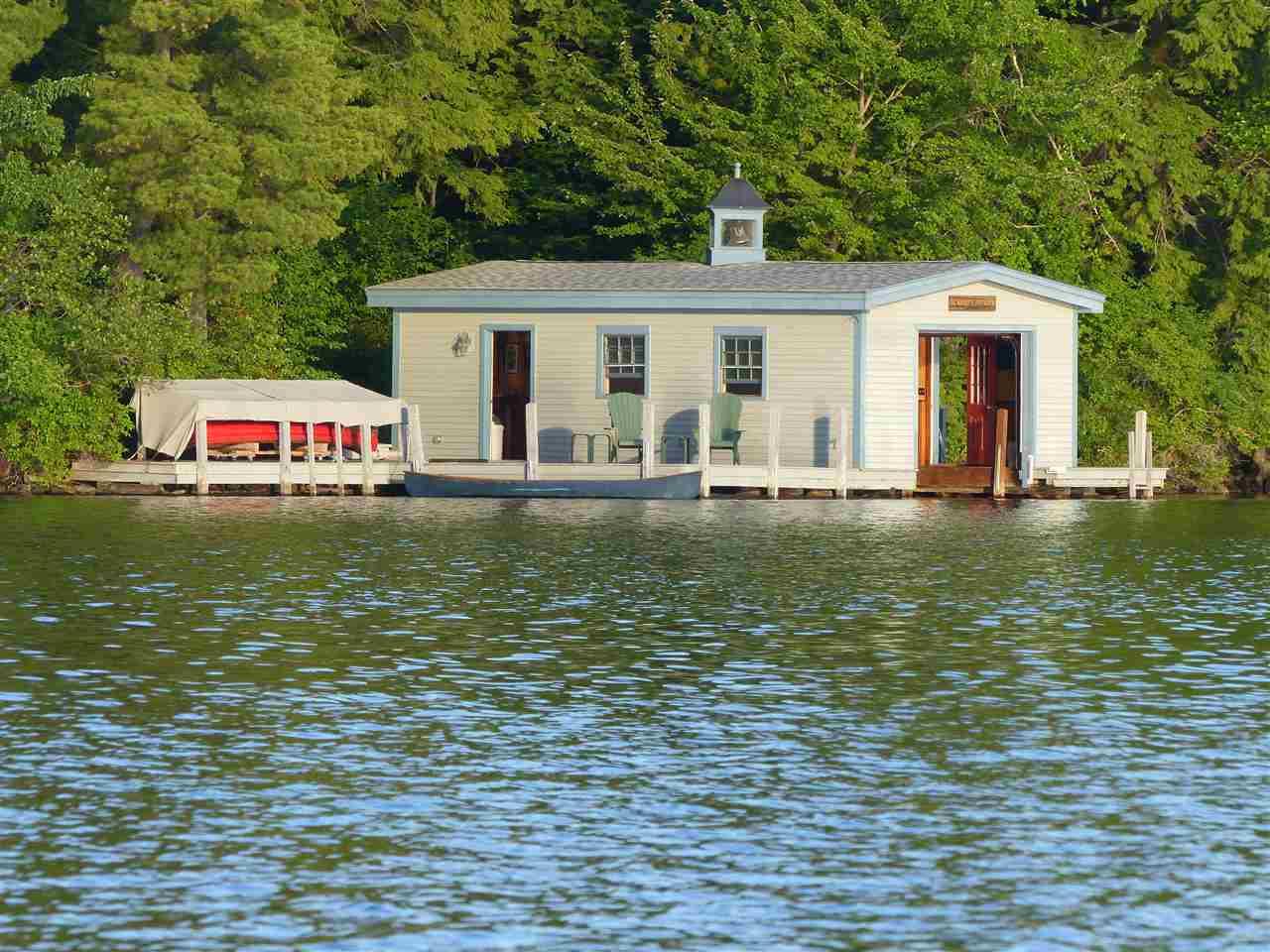 Lake Winnipesaukee waterfront home for sale in Wolfeboro