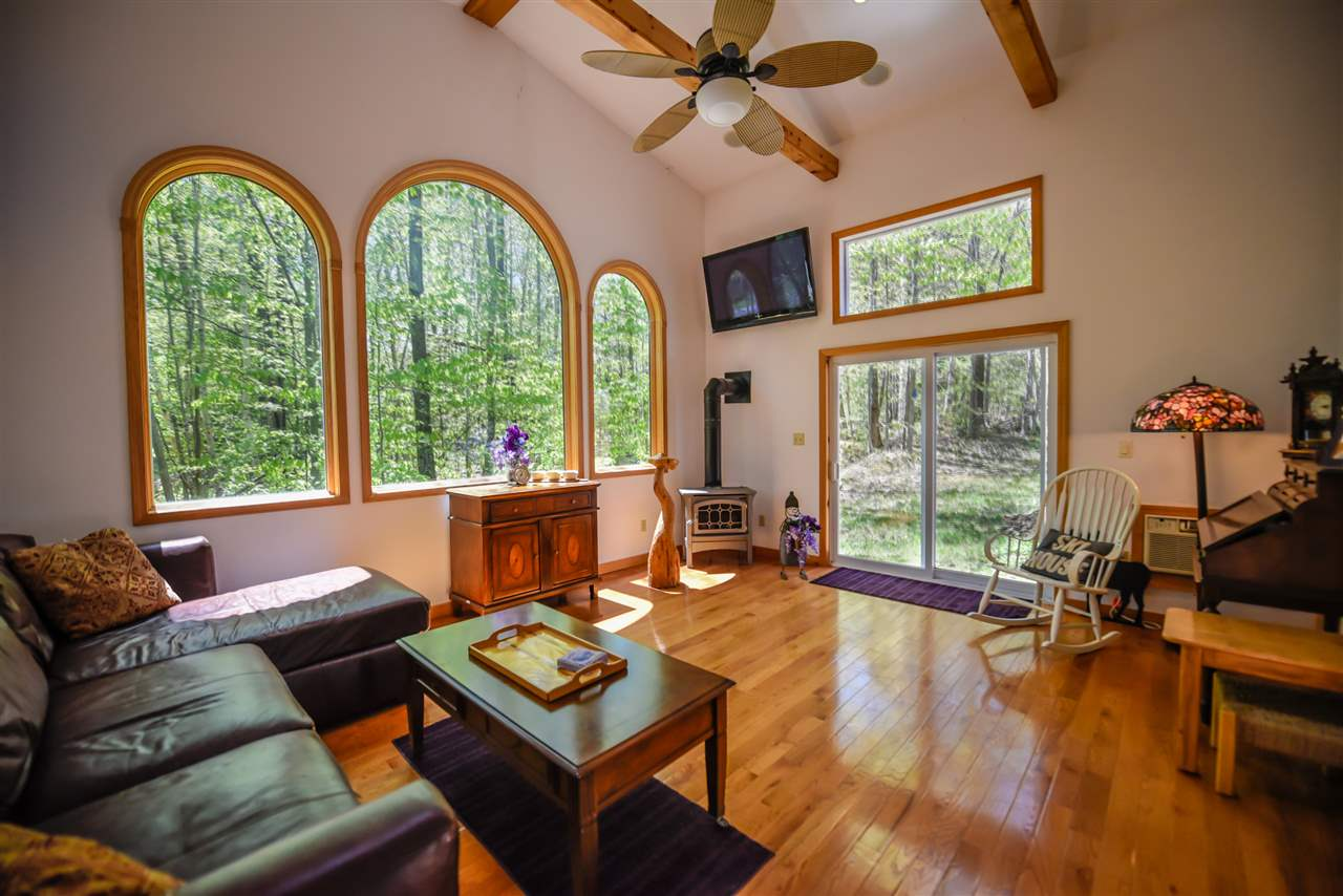 Charming updated Chalet right at the base of the...