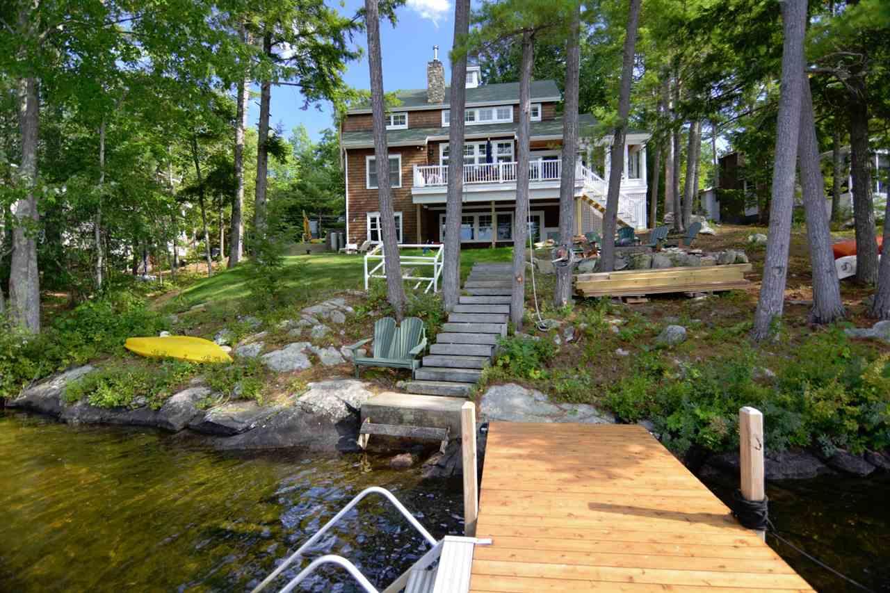 Lake Winnipesaukee waterfront home for sale in Moultonborough
