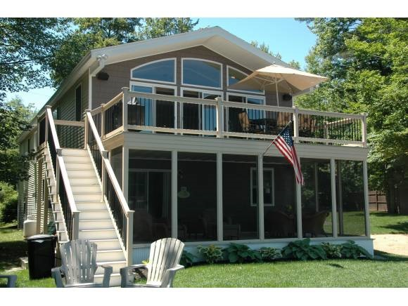 Lake Sunrise Lake waterfront home for sale in Middleton