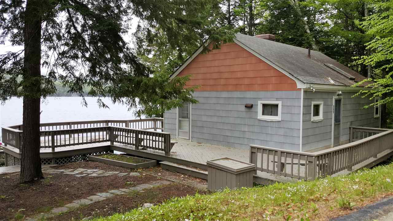 Lake Merrymeeting Lake waterfront home for sale in New Durham