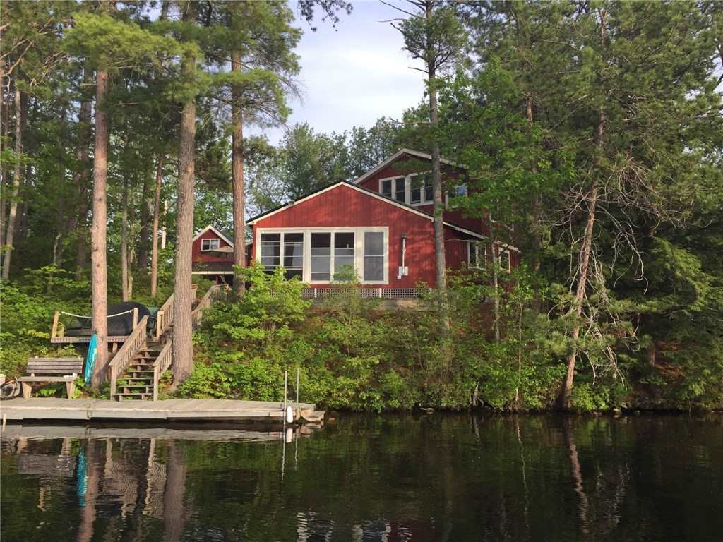 Lake Balch waterfront home for sale in Wakefield