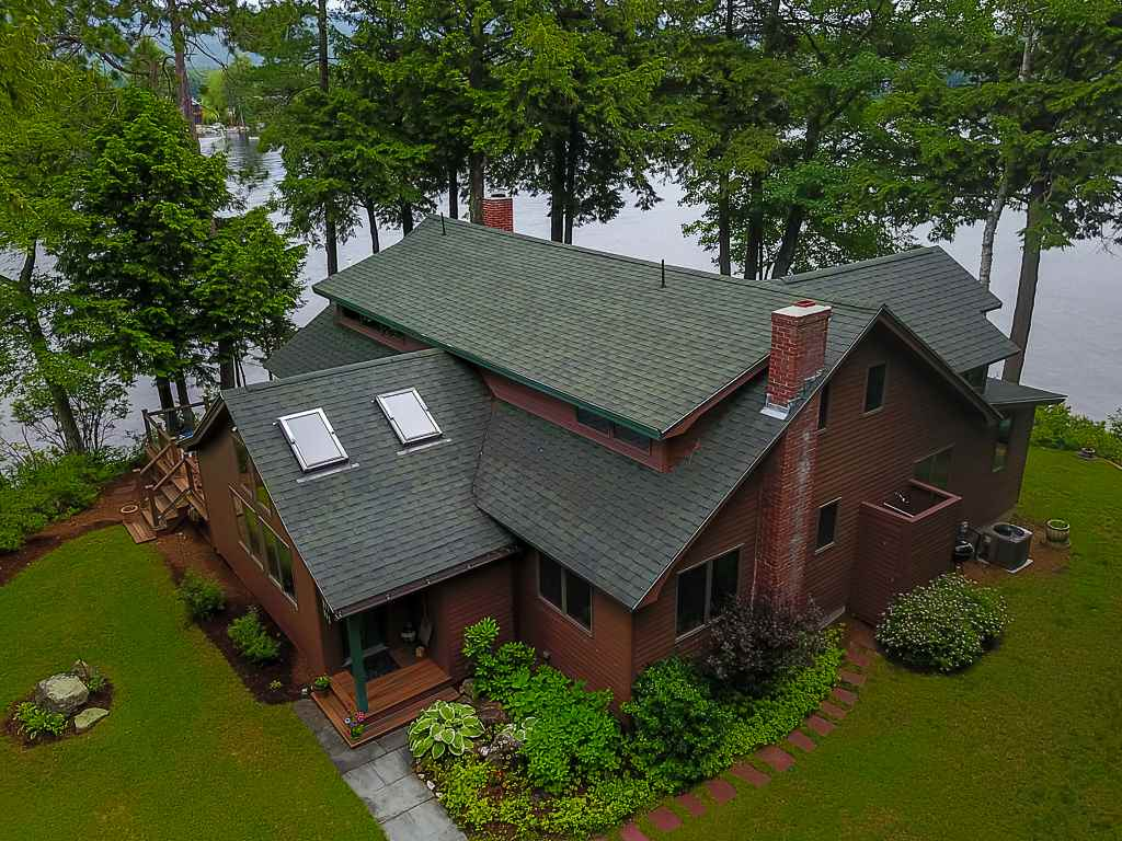 Moultonborough NH Home mls no. 4617416 with 420 ft. owned waterfront