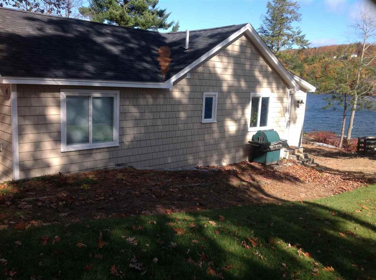 Alton NH Lake Winnipesaukee waterfront home for sale