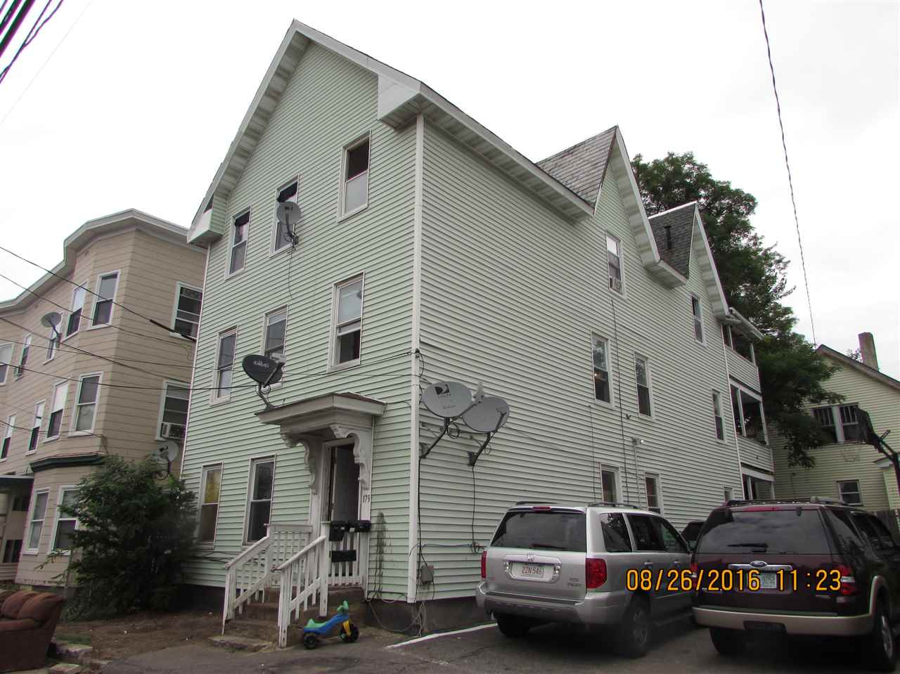 image of Manchester NH  3 Unit Multi Family   sq.ft. 7248