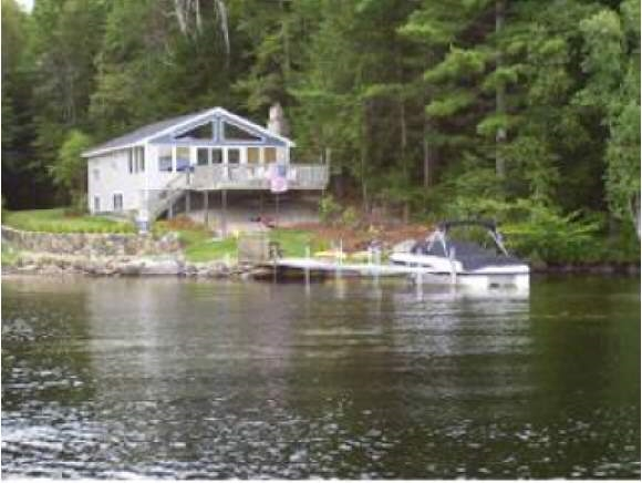 Lake Winnepesauke waterfront home for sale in Moultonborough