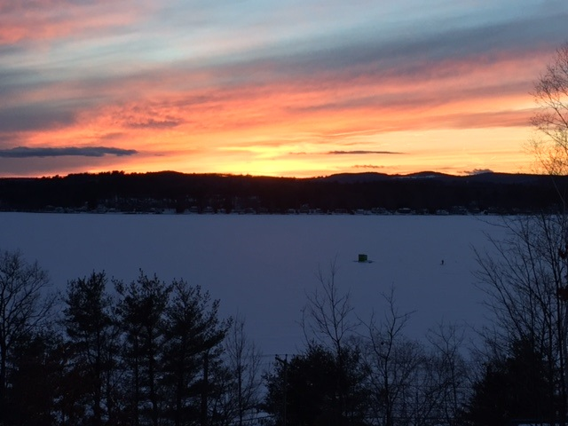 Laconia NH  waterfront home for sale