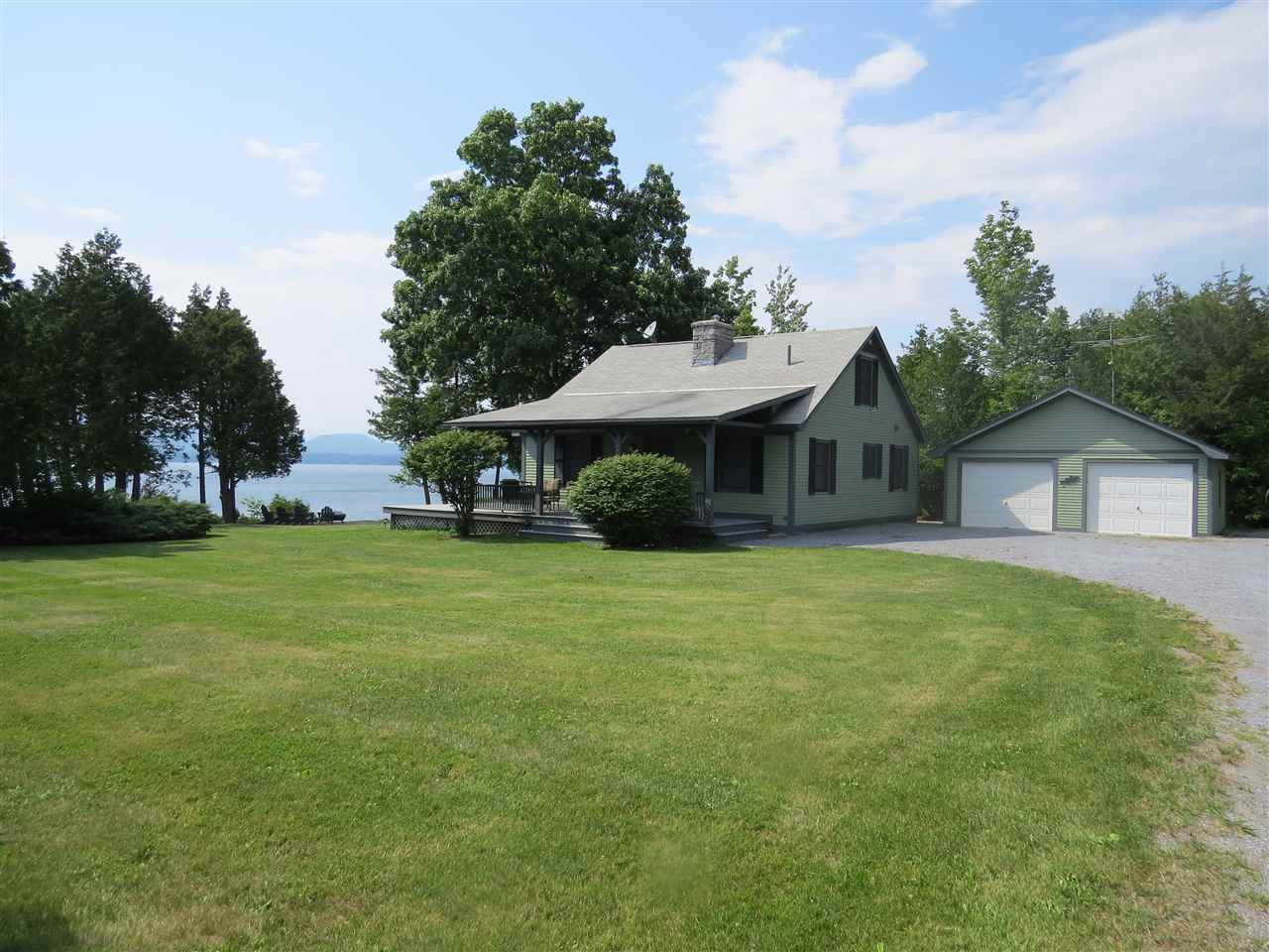 PANTON VT Lake House for sale $$595,000 | $417 per sq.ft.