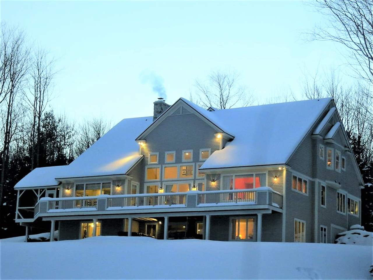 STRATTON VT Lake House for sale $$1,750,000 | $334 per sq.ft.