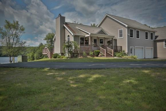 Antrim NH Lake Franklin Pierce Lake waterfront home for sale