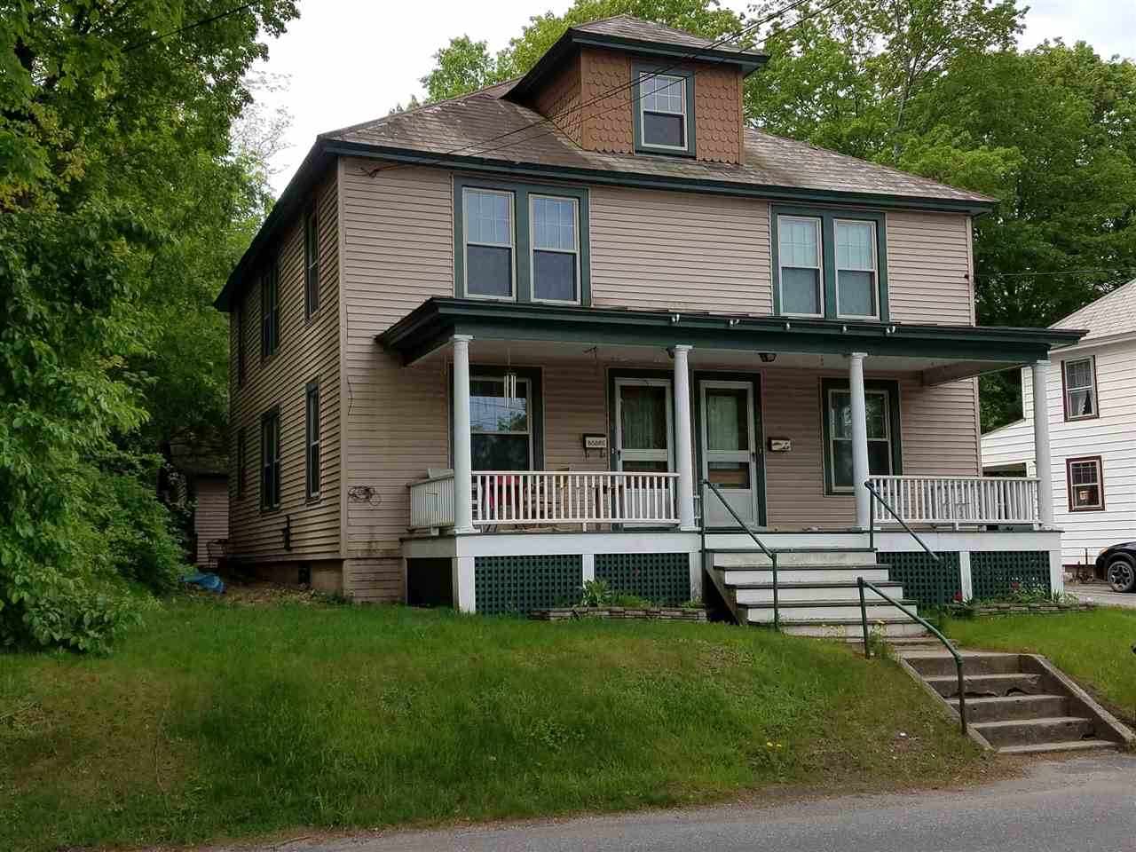 Great in-town two family duplex. Each unit is two...