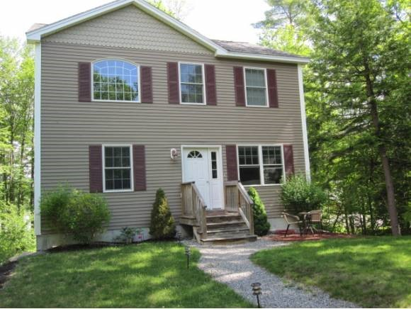 Pond Sargents waterfront home for sale in Wolfeboro