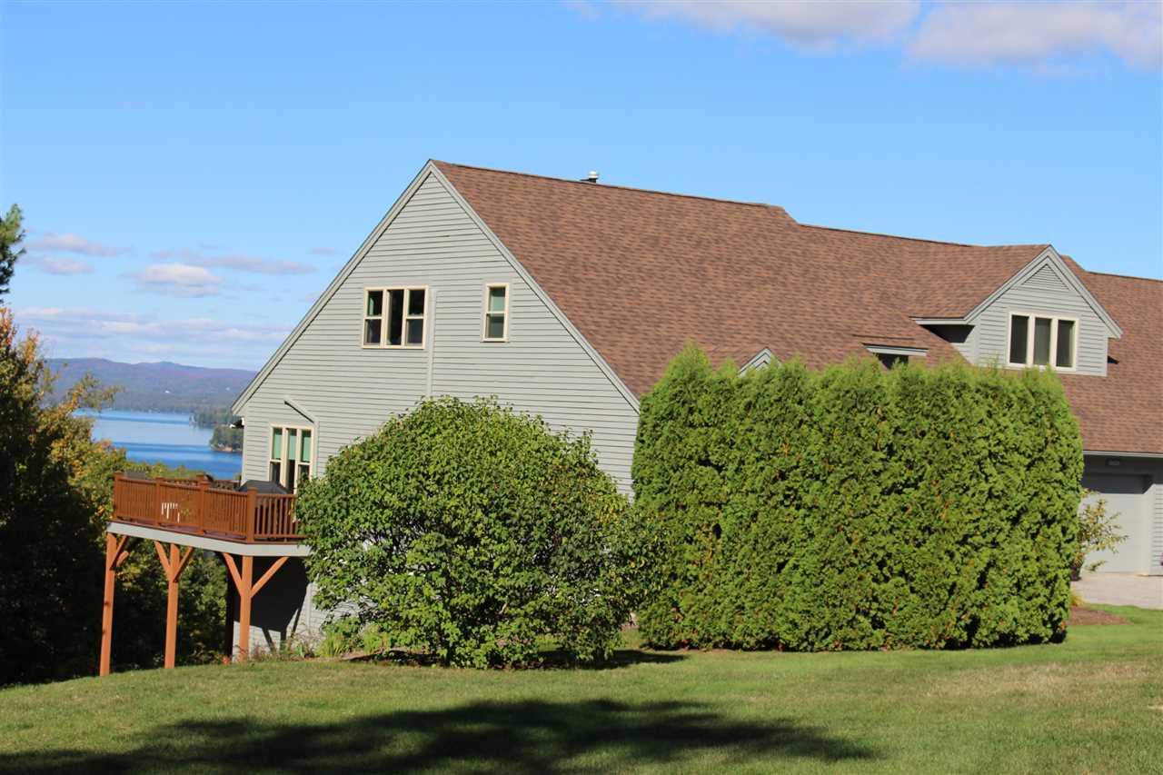 Newbury NH Lake Lake Sunapee waterfront home for sale