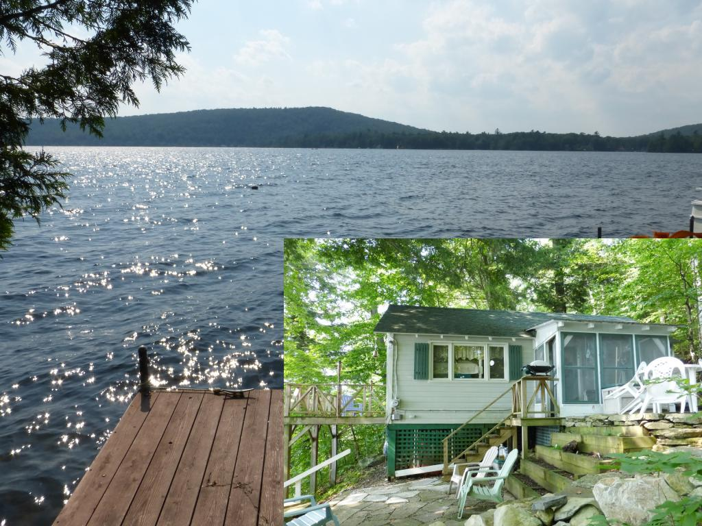 SALISBURY VT Lake House for sale $$149,900 | $333 per sq.ft.