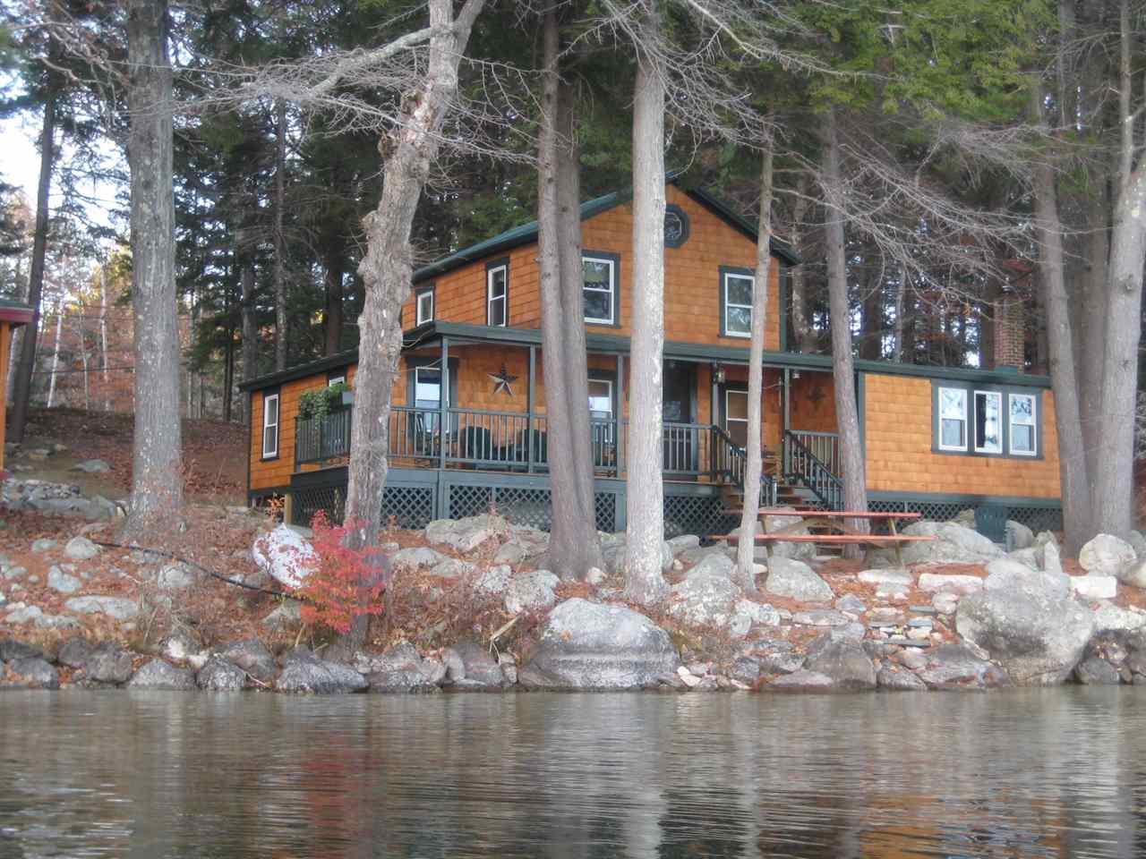Meredith NH Lake Lake Winnipesaukee waterfront home for sale