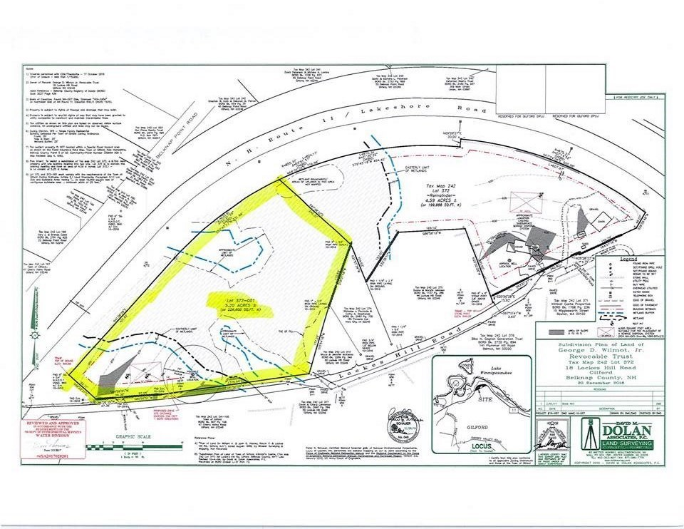 GILFORD NH  NH Land for sale $89,900