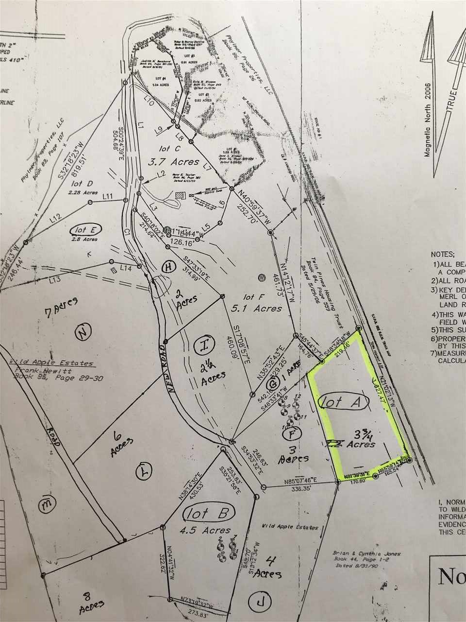 ROYALTON VTLAND  for sale $$30,000 | 3.75 Acres  | Price Per Acre $0