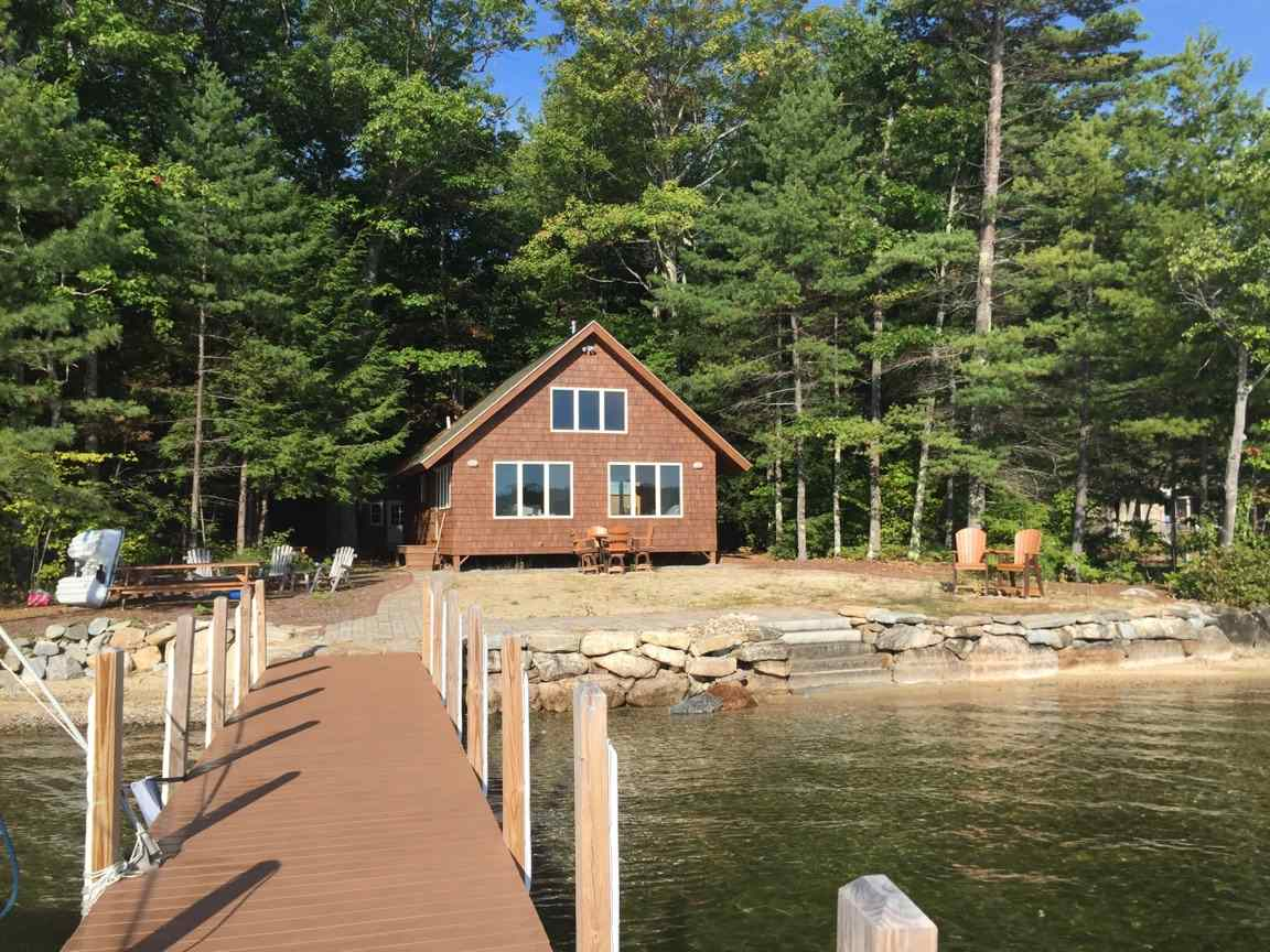 Laconia NH Home mls no. 4629005 with 80 ft. owned waterfront