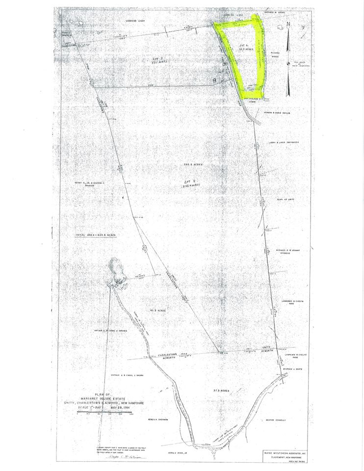 Unity NH 03743Land  for sale $List Price is $59,900