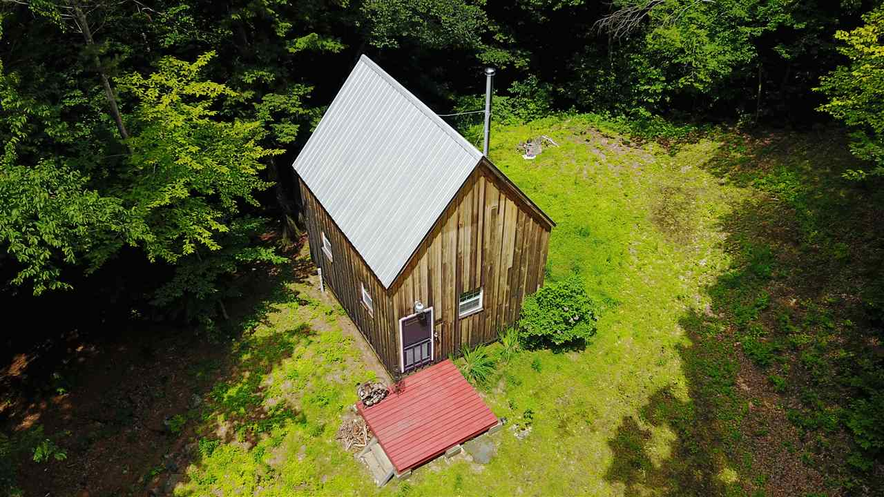 Tiny house living! These 34 acres have a solid...