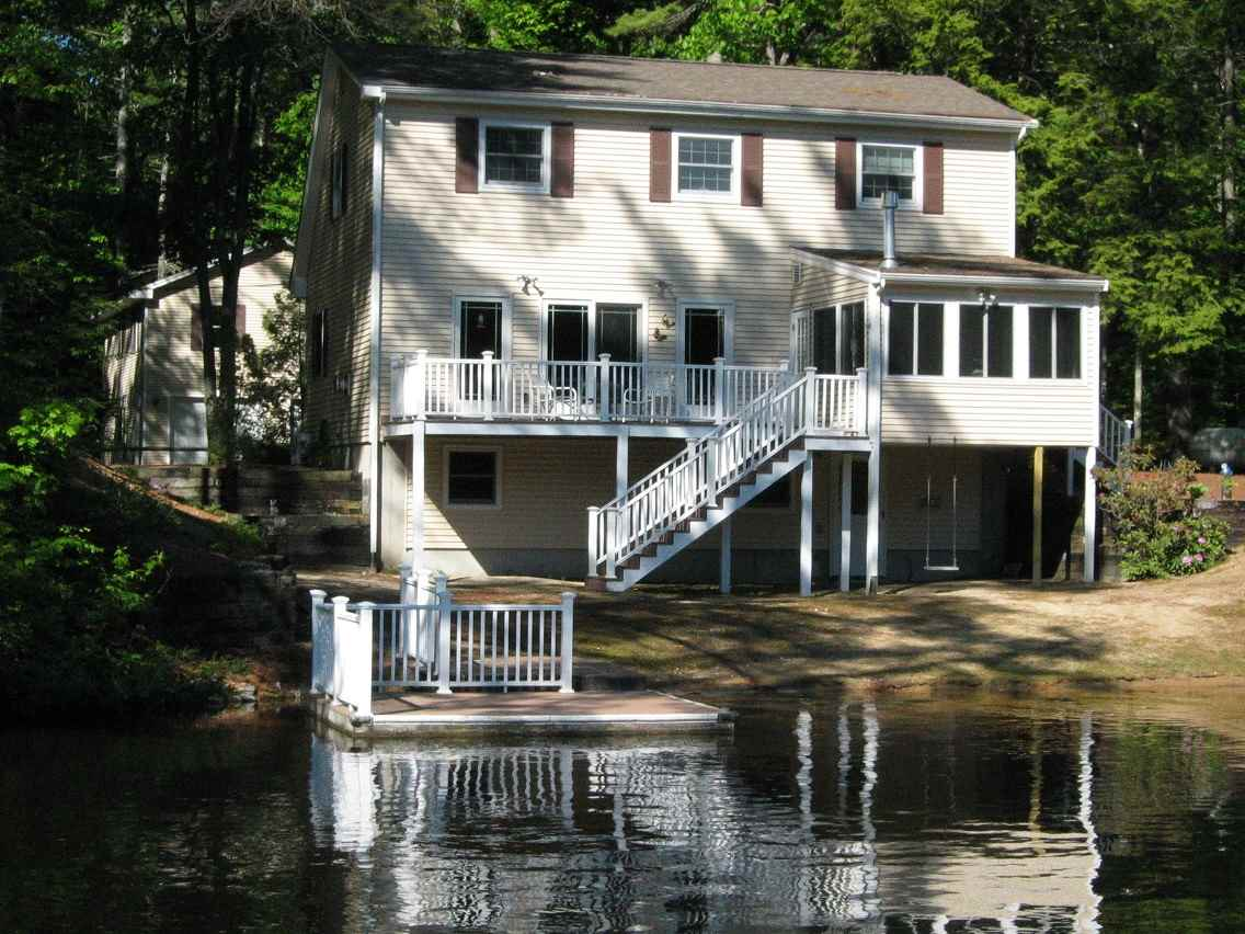 Lake Belleau waterfront home for sale in Wakefield