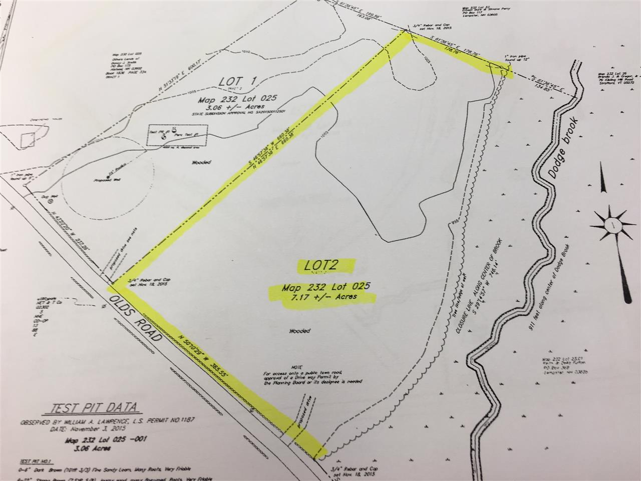 Lempster NH 03605 Land  for sale $List Price is $37,500