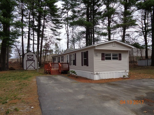 Derry NHMobile-Manufacured Home for sale $List Price is $44,900